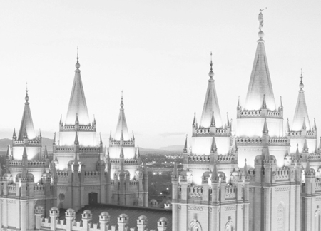 Mormons believe that families can be together forever